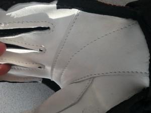 rukavice oprava